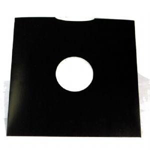 "12"" Black Gloss Card LP Record Sleeves - Disco Bags"